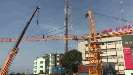 Qtz80 160m 固定トップキット Tavol Crane Tower 8 Ton 14 ヶ月保証