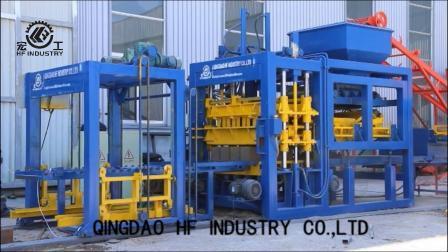 Qt8-15 Meilleure vente concurrentiel machine à fabriquer des blocs de béton creux manuelle automatique Prix Philippines