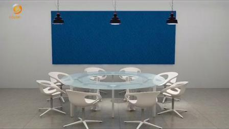 Schallabsorption Polyester Faser Acoustic Plain Panel