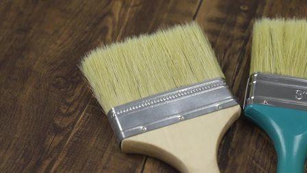 Setole pennello con manico in legno utensile manuale 31142