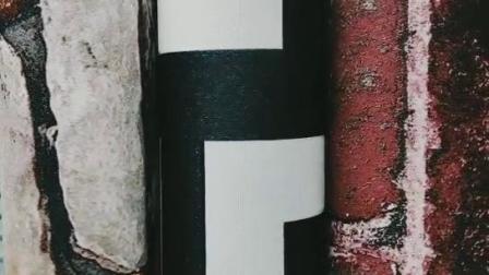 Retro Wallpaper imitatie Antiek Hout Raad graan Hout Textuture Mode Kapper Shop Decoratieve wandcoating