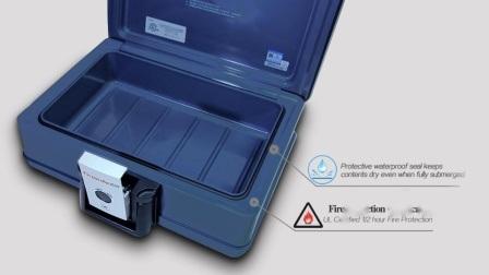 Guarda 2013c incombustible y resistente al agua segura pecho72-350 UL de 30 minutos se adapta a papel B5