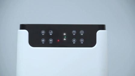 Corea Inicio purificador de aire HEPA ion negativo Suelo/filtro de aire electrostático