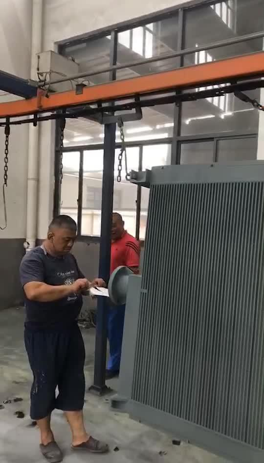 Enfriador de aceite del transformador Air-Cooled Enfriador de aceite del transformador