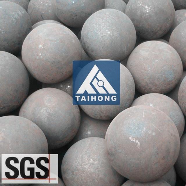 20120mm SGS het Rapport van de Test van het Malen van de Bal van het Staal voor Zilveren Mijn