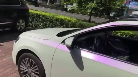 Авто кузова автомобиля оформление Wrap 1,52*18m размер белой виниловой Хамелеон
