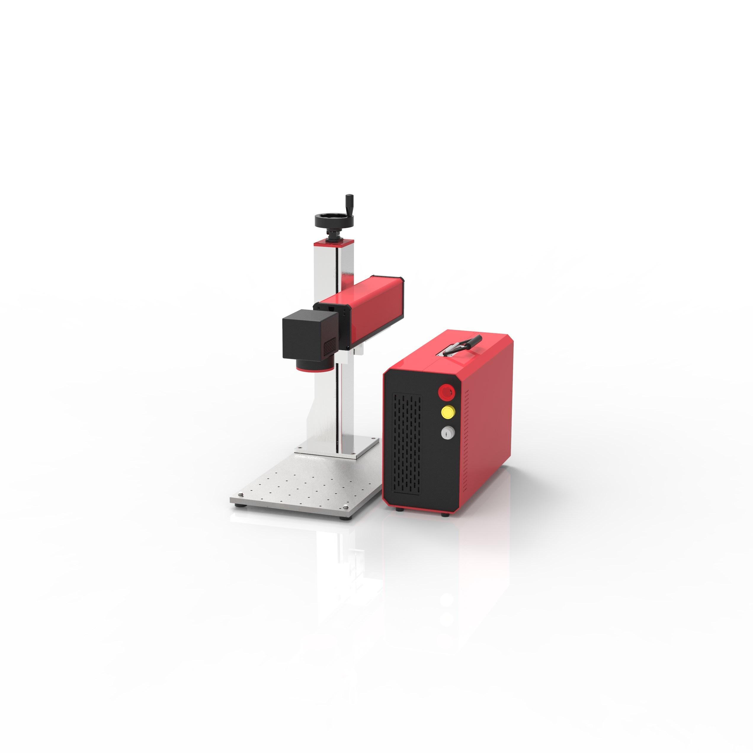 تصميم جديد الألوان Mopa من الألياف الليزر آلة نحت للبيع جهاز تمييز الليزر من الألياف بقوة 30 واط من Mopa
