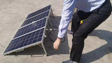120W de la bomba de agua solar portátil