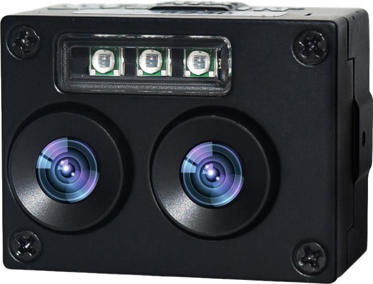 Caméra USB de reconnaissance de visage avec fonction de soutien Dual-Lens WDR