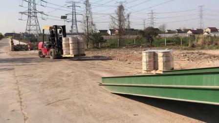 Grünes PVC-beschichtetes Stahlseil