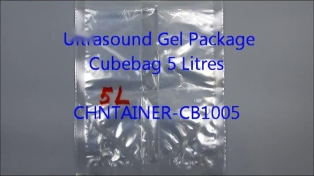 Gel de transmission des ultrasons médicaux conteneur Cheertainer 2L et 5L