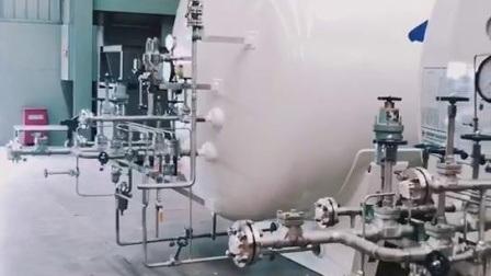 Microbulktank van 3 m3 voor LOX Lin Lar LNG