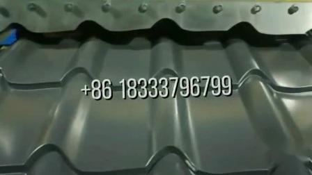 Macchina per la formazione di rotoli di piastrelle in lamiera smaltata di alta qualità