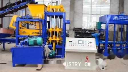 machine à fabriquer des briques de qualité Qt5-15/finisseur Appuyez sur la machine hydraulique machine à fabriquer des blocs