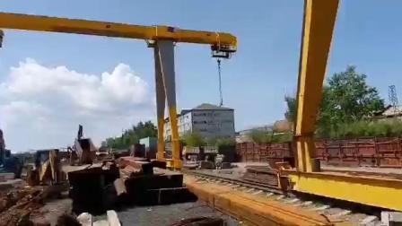 5 トン 10 トン 20 トンシングルジラダー中国ガントリ 産業用クレーン