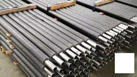 Контакт во главе стальные трубы для масла и Нефтеперерабатывающего завода промышленности, бойлер лак для ногтей ребристую войлочную ленту стальную трубку