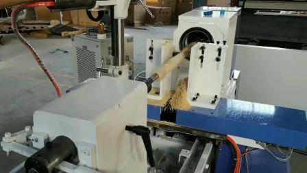 Las piernas de la tabla de madera CNC máquina de torno automático