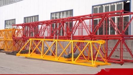 Tavol Brand 10 Ton Tower のチャイナタワークレーンメーカー フィリピンの CE のあるクレーン