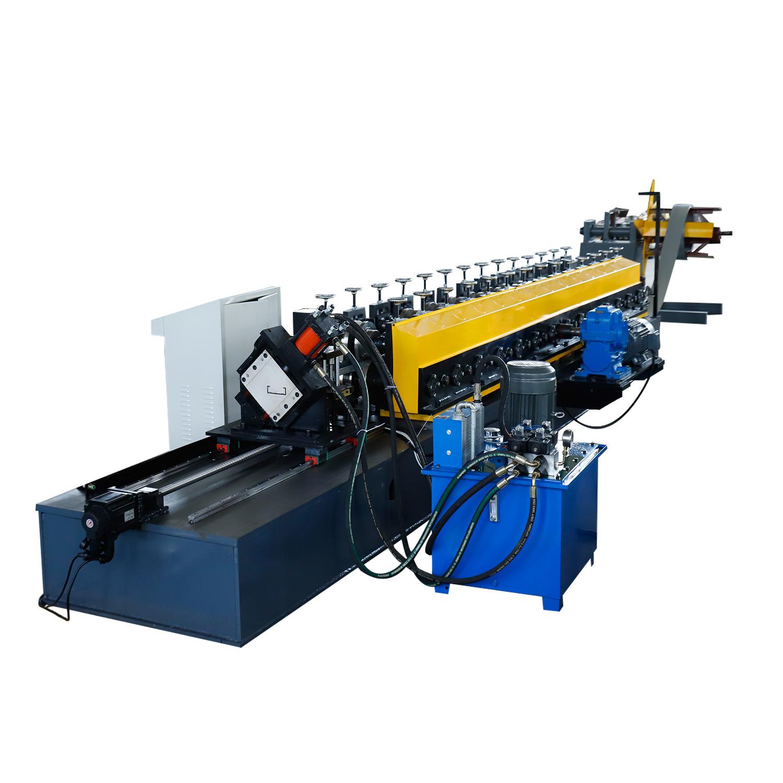 Leichte Stahl-Rahmmaschine C Kanal Pfette Roll Forming Walzenformmaschine