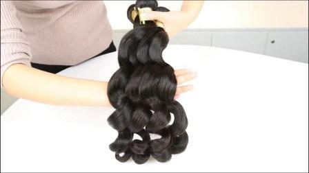 Xbl Einzelspender Haarkutikel Ausgerichtet 100 Prozent Virgin Remy Haare