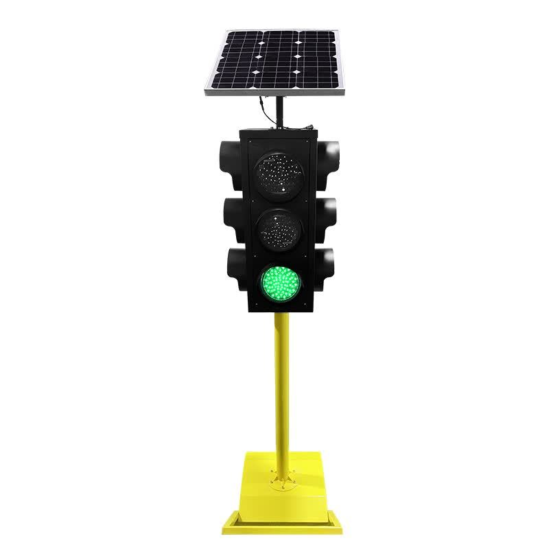 IP65 300mm 전체적인 세트 도로 통로 철도 태양 강화된 소통량 노란 번쩍이는 신호등