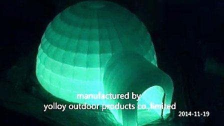 LED 照明膨張式イグルードーム販売用