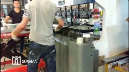Het Metaal van het blad en CNC van de Plaat Hydraulische Buigende Vouwende Machine
