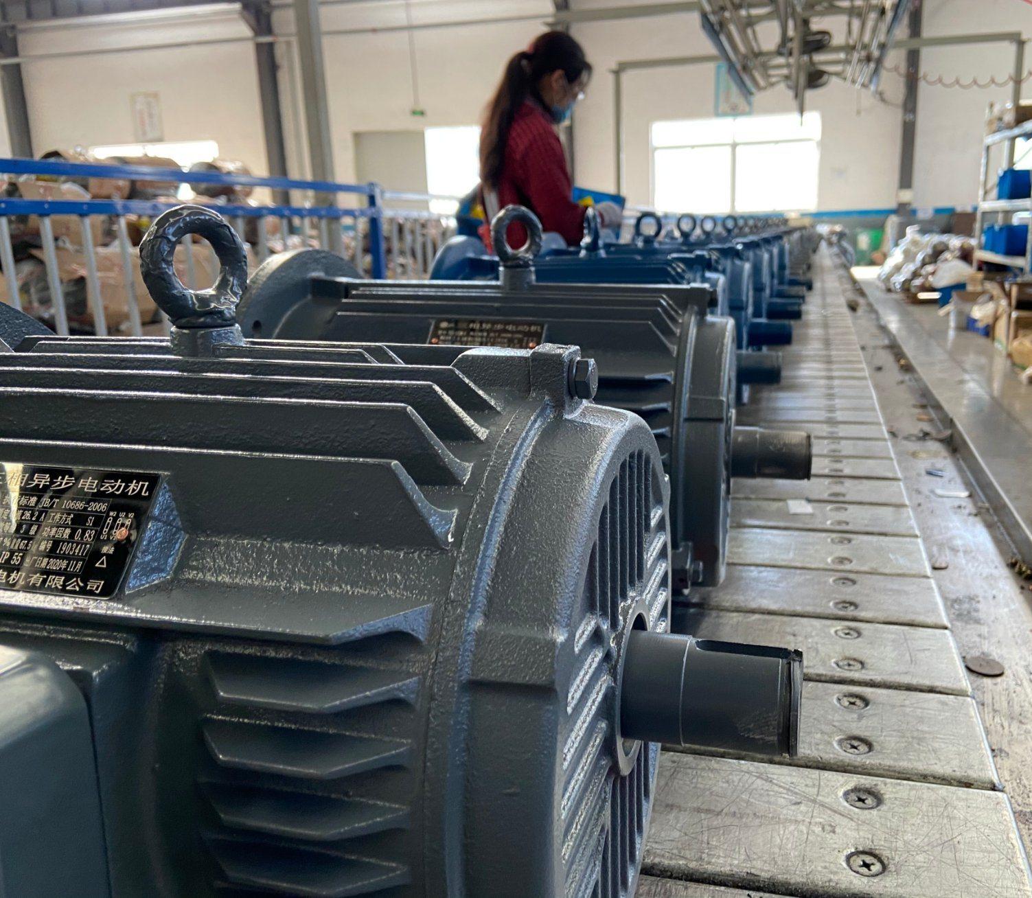 Ye3 CE CCC 0.12kw ~ 375kW S1 IC411 3 相非同期 AC 電動 IE3 モータ、ポンプファンブロワエアコンプレッサギヤ用 レジューサクリーナー Ye3-63m1-2 0.18kw