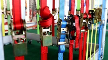 Zacht kunststof handvat met S Hook 1 inch 1000 lbs 15FT 4 stuks PP-frameset bevestigingsband met ratel