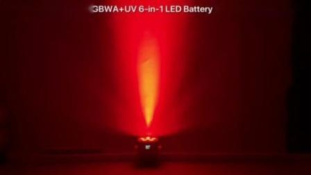 GBR-Bp661 6X18W RGBWA + UV 6in1 LED 배터리 구동 무선 LED PAR 할 수 있습니다