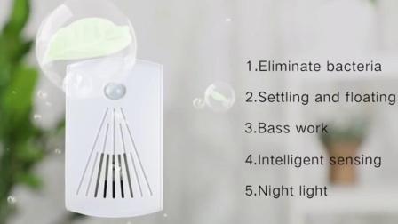 Las PM2.5 flujo unidireccional de purificación de aire del sistema de aire fresco del sistema de ventilación en la pared purificador de aire con luz nocturna automática