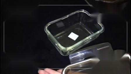 Runde Glasnahrungsmittelbehälter mit dem Sperrung Kappen-des Glasmahlzeit-Vorbereitungs-Nahrungsmittelvorratsbehälters stellt BPA freie Behälter ein