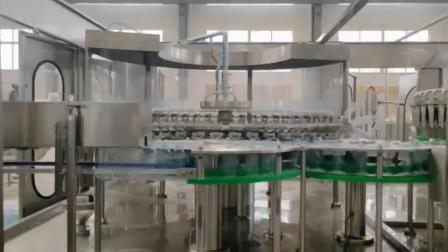 Automatische Pet Kunststoff Glas Flasche Pure Minera Wasseraufbereitung Filter Purifier Saft Getränke Flüssige Füllung Versiegelung Abfüllung Etikettierung Verpackung Maschine