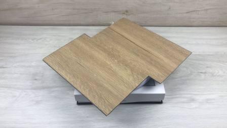 تصميم خشبي من مادة فينيل كلوريد الفينيل PVC Spc WPC Vinyl Click الأرضية