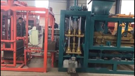 Гидравлический пресс для производства кирпича4-16 Qt Танзании блок машины для продажи