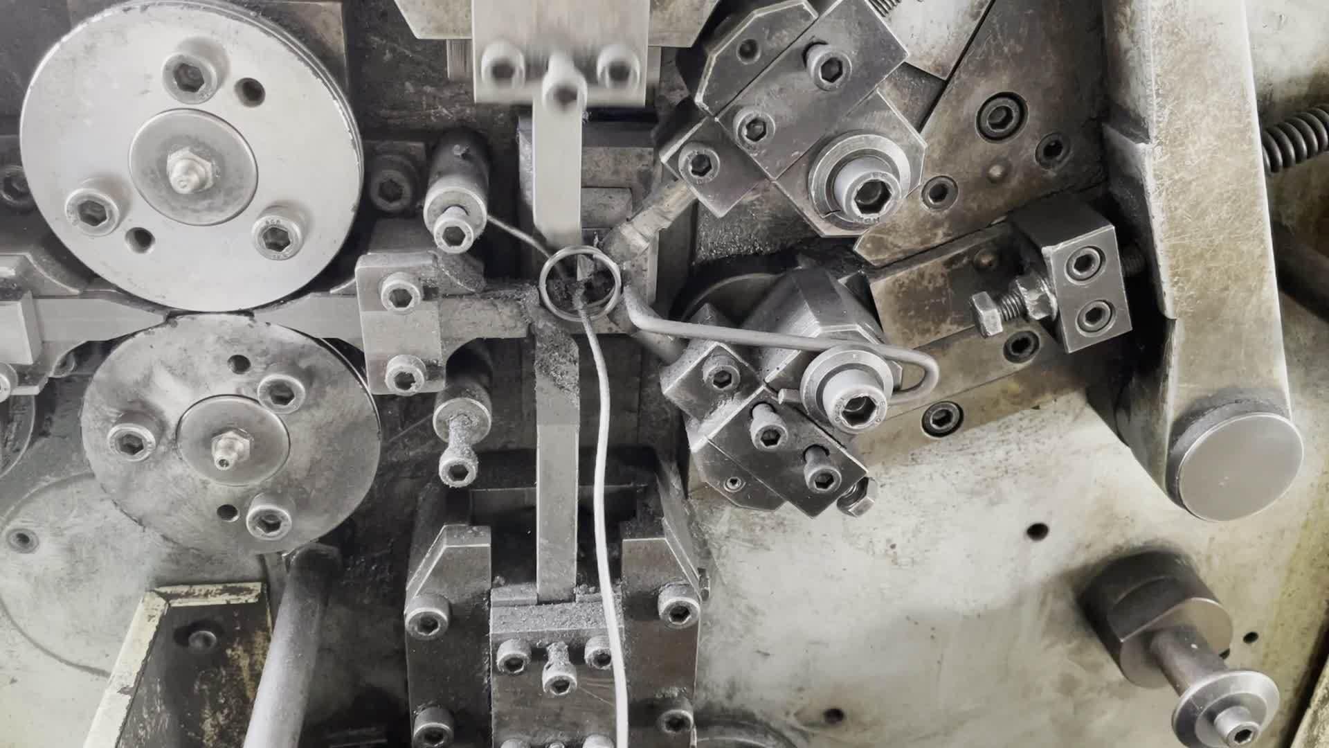 SLTH-MS-040 65mn onderdelen met zwart oxide, roestvrij staal, stempelstaal