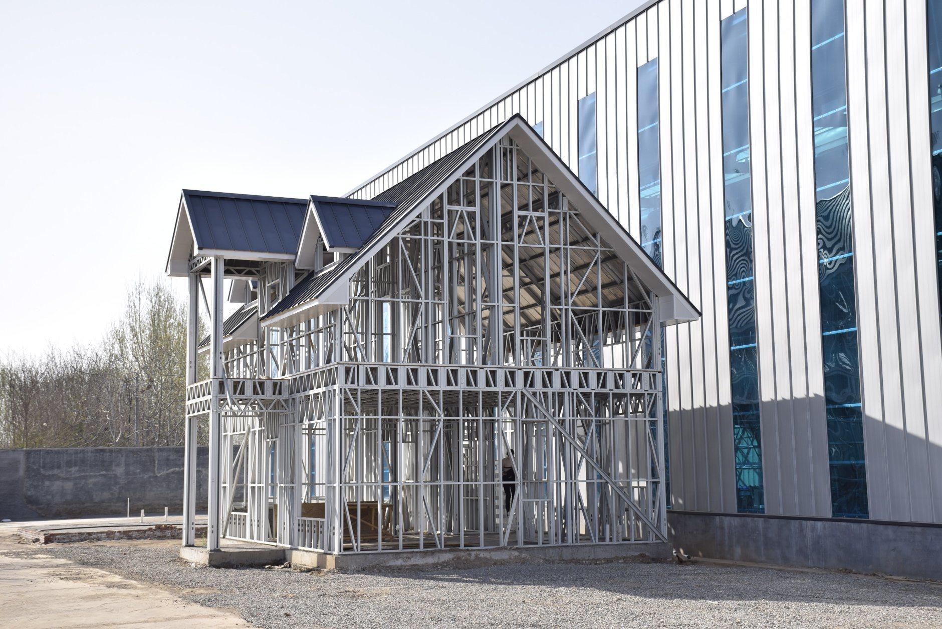 Lgs Reachfly сегменте панельного домостроения оцинкованного кузова 89мм стальные балки