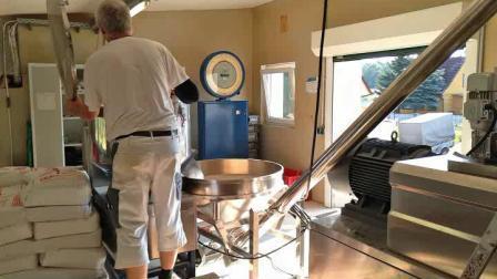 extrusionadora de husillo doble pet food Alimento de peces de la máquina