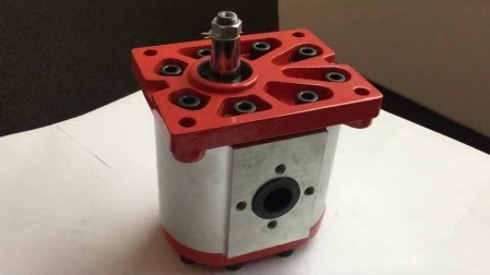 Pompa Dell'Olio Per Ingranaggi Idraulici Impilabile Rotativa Ce Dimostrata In Cinese