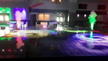 Wireless LED Dance Floor DJ Light für Hochzeitsveranstaltung