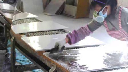 Vervaardiging van de fabriek poetste de Witte/Zwarte/Gele/Beige/Rode Plakken van het Onyx van het Graniet/van het Marmer/van de Travertijn/van de Luxe/van het Agaat/van het Kalksteen/van de Steen van het Kwarts voor Tegels/Countertops/Bedekkend op