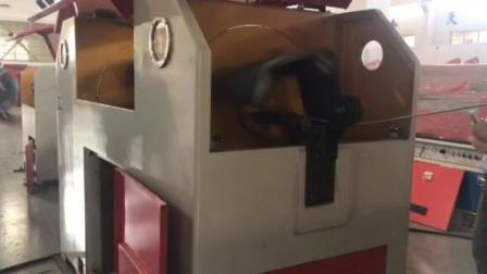 آلة حزام الرمال الدوارة لصنع سلك نظيف