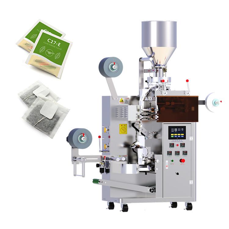 Automatische Tee Latte Kaffee Papierbeutel Verpackungsmaschinen Auger Pulver Granule Lebensmittelabfüllung Versiegelung Vakuumverpackung Verpackungsmaschine