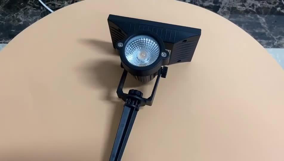 Fabrik geben direkt Scheinwerfer-Landschaft5w PFEILER des freies Beispielsolar-LED kampierendes im Freien Licht CER Rosh des Garten-IP65 an