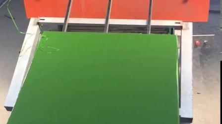 Het professionele Onder ogen gezien Triplex van de Plastic Film van de Opbrengst met Groene Kleur