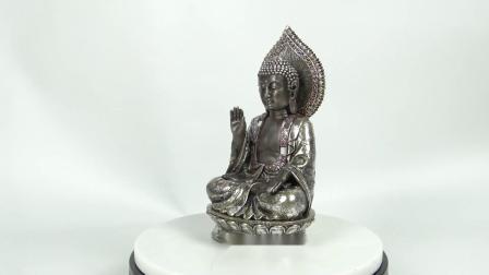 Nova chegada casa Feng Shui mão fez Tabela decorativas sentado meditando resina estátuas de Buda
