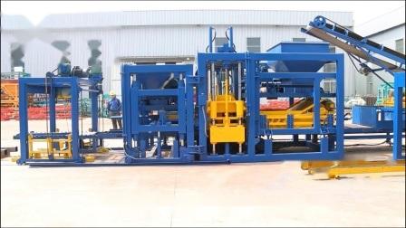 Qt10-15 hydraulique automatique machine à fabriquer des blocs de béton de ciment creux au Bangladesh de prix