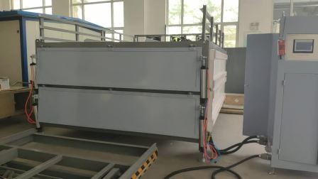 4 capas de vidrio templado laminado máquina