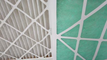 Primär-Leistungsfähigkeit gefalteter Typ Panel-Filter/Luftfilter