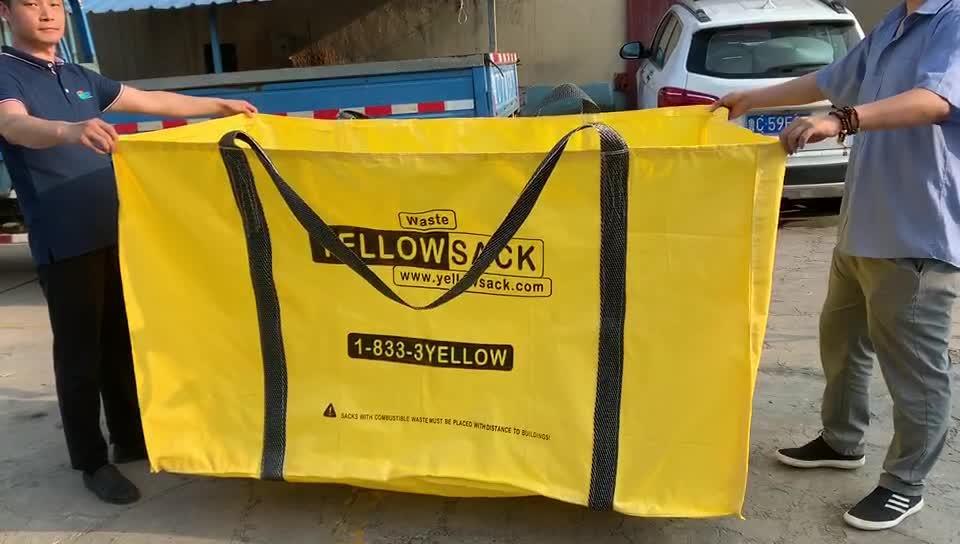 PP Woven Jumbo grote vuilniszak Skip Bag voor dakbedekking vervanging, reparatie